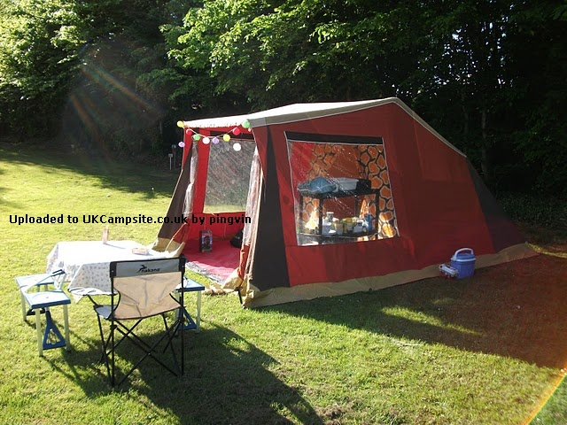 Trio 4 berth frame tent reviews and details for A frame canvas tents for sale