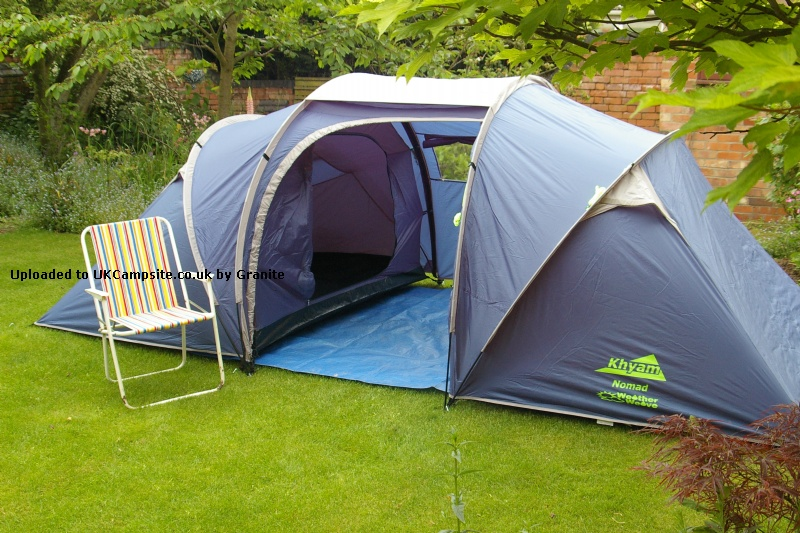 If ... & Khyam Nomad Tent Reviews and Details