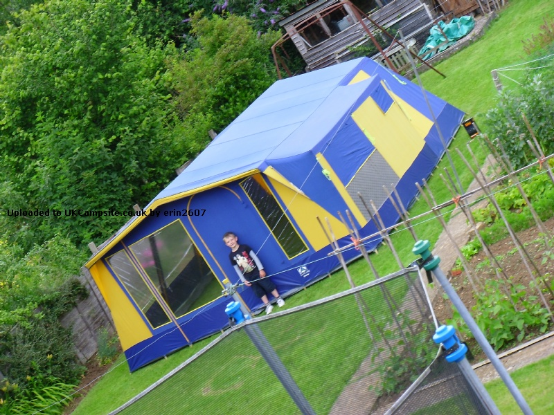 SunnCamp Grange Tent Reviews and Details