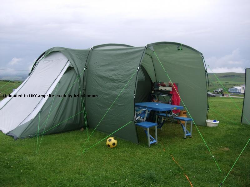 camping coleman diy pin awning camper up inexpensive pop pinterest