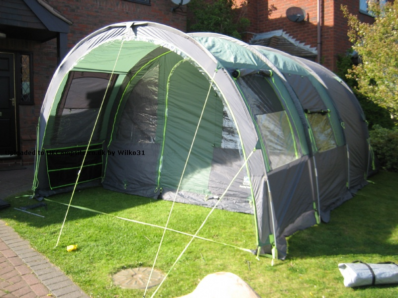 If ... & SunnCamp Family Vario 5 Tent Reviews and Details