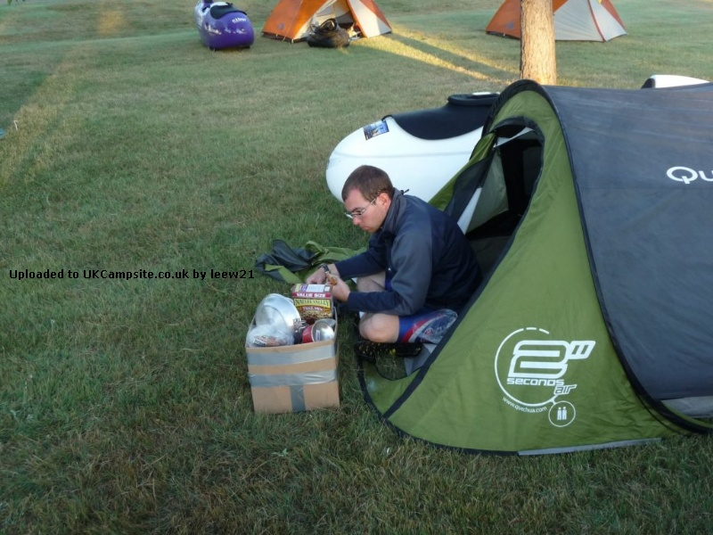 If ... & Quechua 2 Seconds Air II Tent Reviews and Details