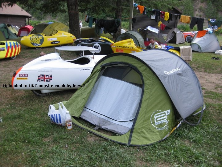 Member Uploaded Images - click to enlarge & Quechua 2 Seconds Air II Tent Reviews and Details