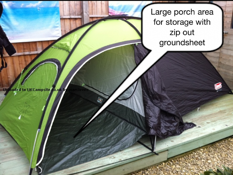 If ... & Coleman Phad X3 Tent Reviews and Details