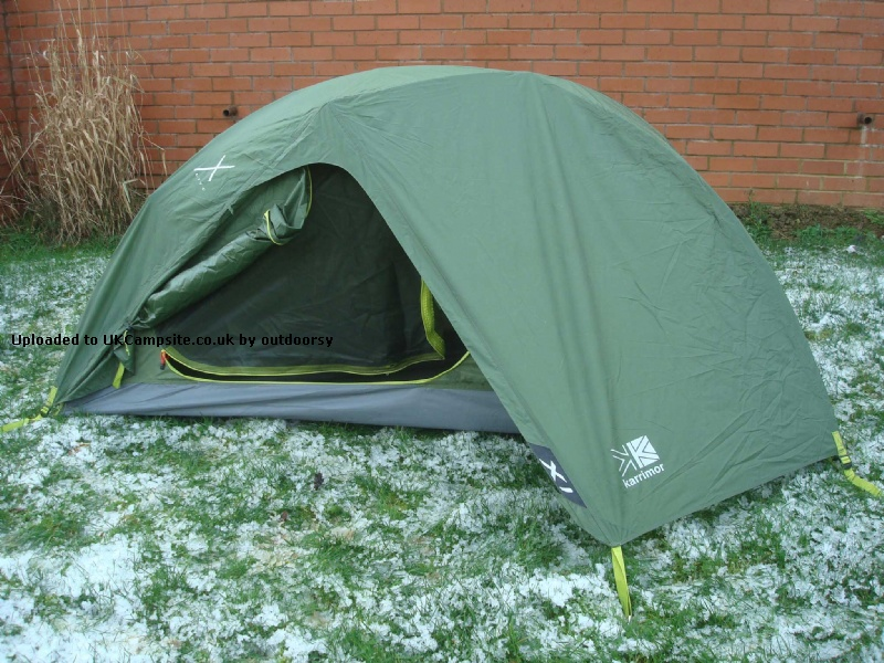 Member Uploaded Images - click to enlarge & Karrimor X Lite X1 Tent Reviews and Details