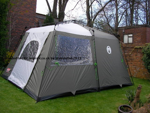 coleman instant tent 4 with inner rooms