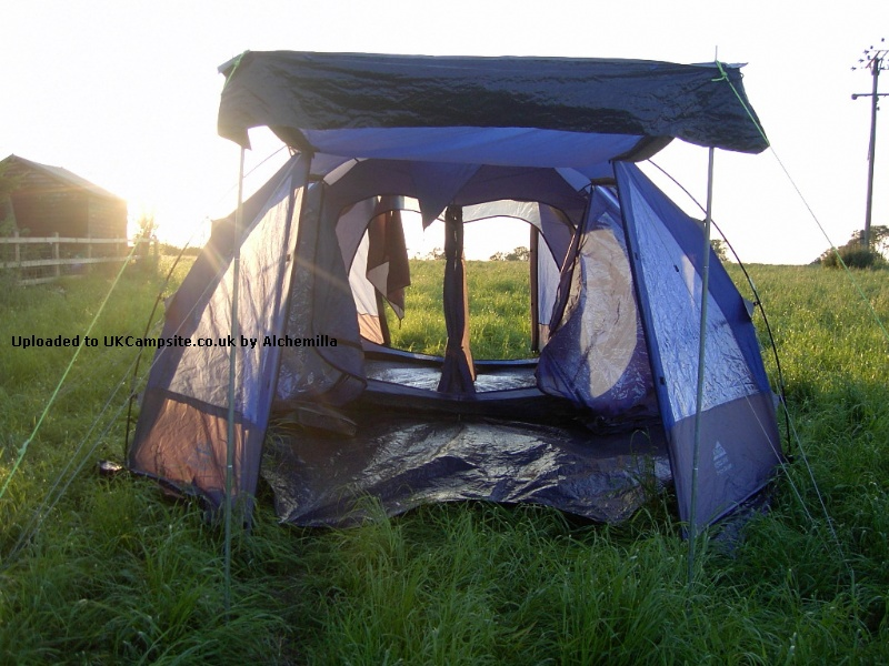 If ... & Khyam Amazon Deluxe Tent Reviews and Details