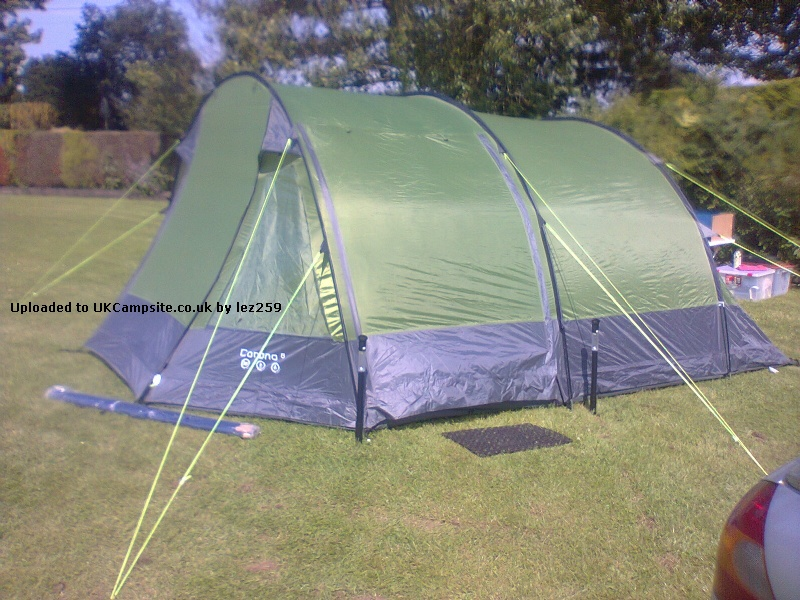 Gelert Corona 6 Tent Reviews and Details