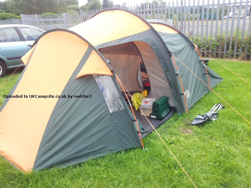 Member Uploaded Images - click to enlarge & Pro Action/Argos Regatta 3 Man Tunnel Tent Reviews and Details