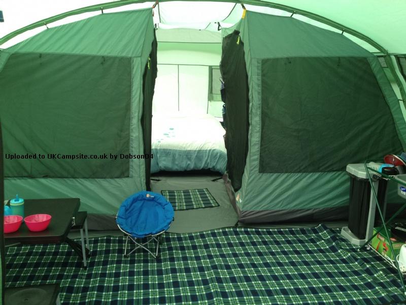 corado 8 man tent dimensions