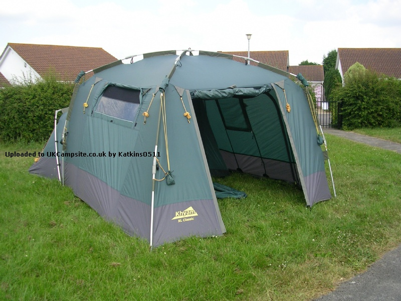 If ... & Khyam Ridgi Dome XL Classic Tent Reviews and Details